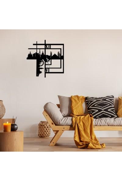 LİVİQN Silüet Metal Duvar Çizimi