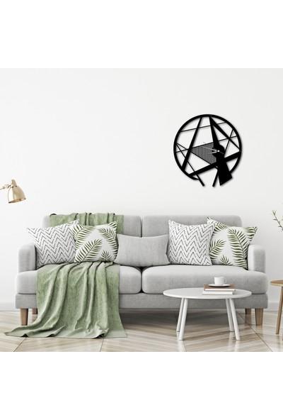 LİVİQN Simetrik Metal Duvar Saati