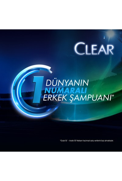 Clear Men Cool Sport Menthol Şampuan 500 ML