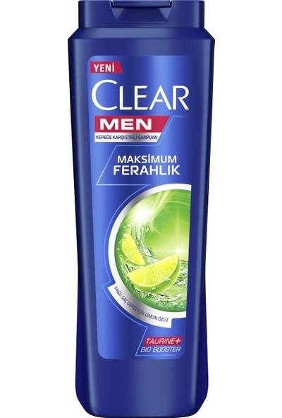 Clear Men Yağlı Saç Derisi İçin Maksimum Ferahlık Şampuan 500 ml