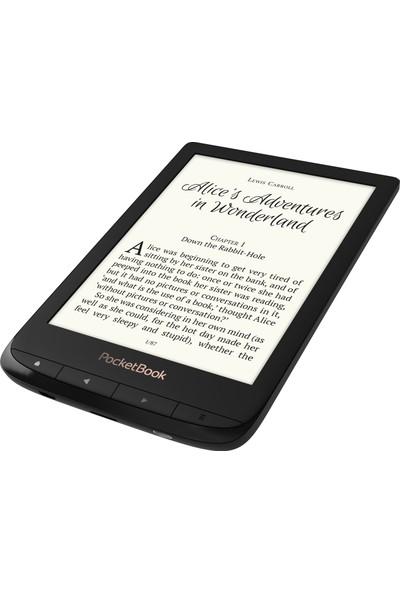 Pocketbook Touch Lux-4 E-Kitap Okuyucu - Siyah - + Kılıf ve Ekran Koruyucu Film