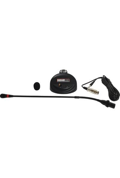 Hepa Merz HM-86C Condenser Hassas Üst Kalite Masa Kürsü Mikrofonu