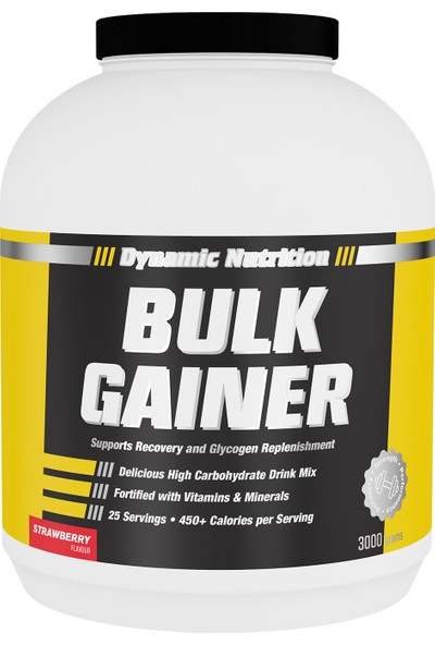 Dynamic Nutrition Bulk Gainer 3000 gr Çilek