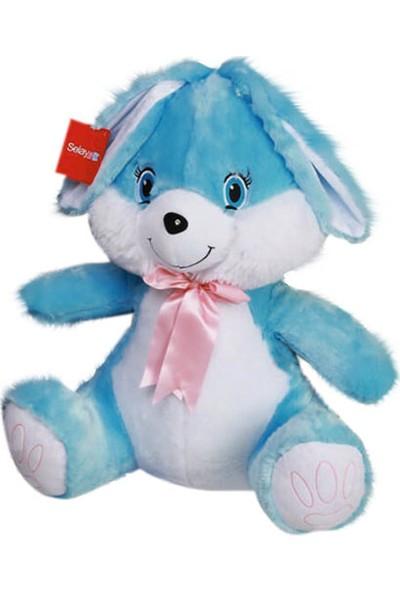 Selay Toys Tavşan Mavi 60 cm