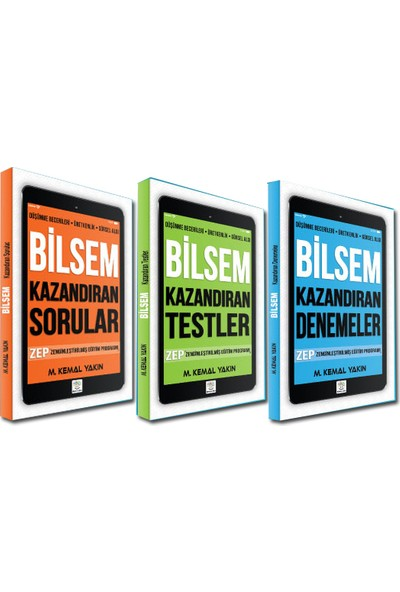 Yükselen Zeka Yayınları - Bilsem Hazırlık Seti