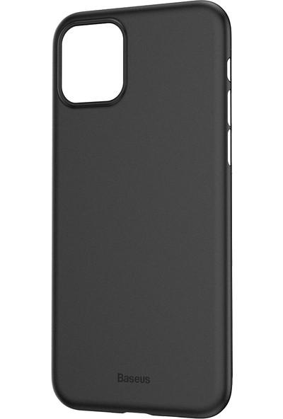 Vendas Apple iPhone 11 İnce Silikon Kılıf Siyah + Vendas Tam Kaplama Ekran Koruyucu