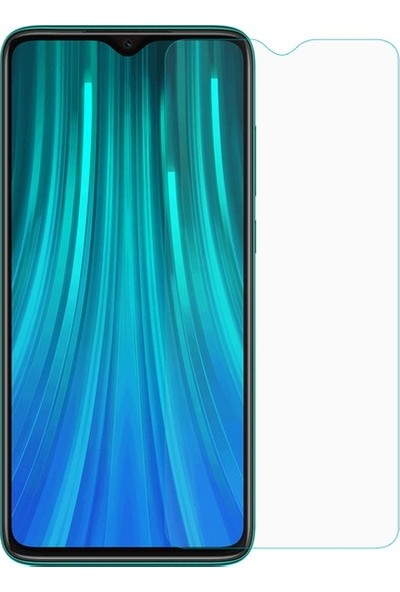 9H Xiaomi Redmi Note 8 Pro Temperli Ekran Koruyucu Şeffaf