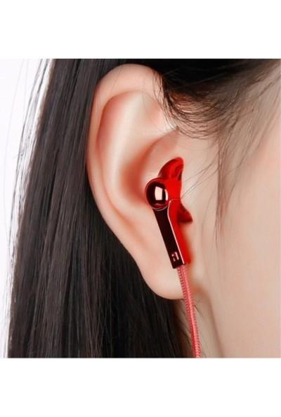 Baseus Times Think Encok H03 3.5mm Kulakiçi Kulaklık Kırmızı