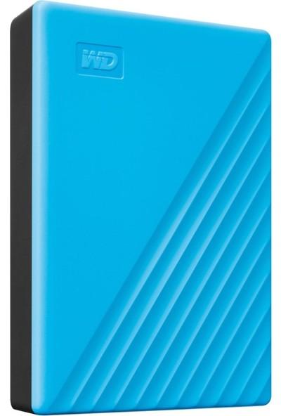 "WD My Passport 4TB 2.5"" USB 3.0 Taşınabilir Disk WDBPKJ0040BBL-WESN"