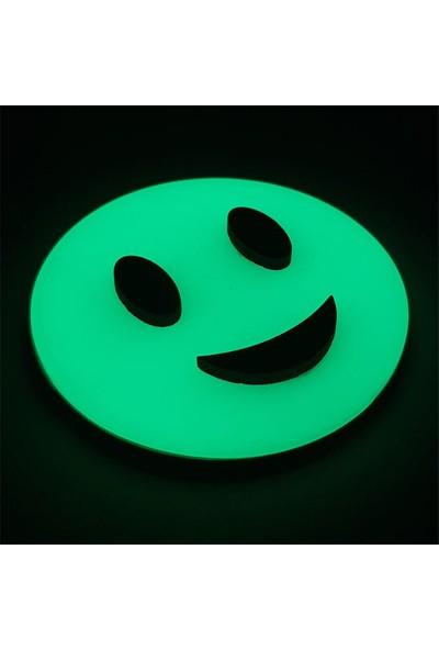 Faami Style Fosforlu Emoji Duvar Süsü