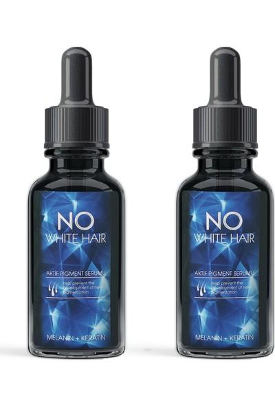 Ukko Cosmetics No White Hair Aktif Pigment Serumu - 2 Adet