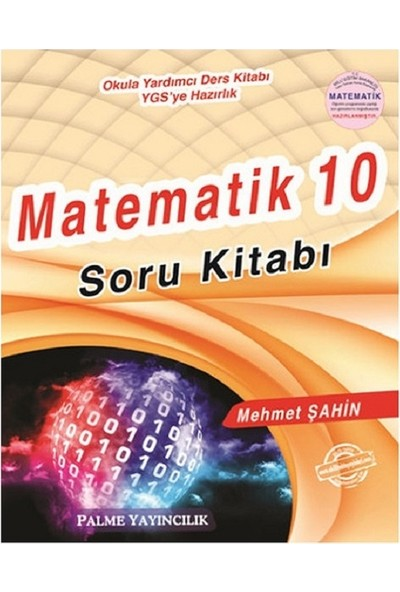 Palme Yayıncılık Palme 10. Sınıf Matematik Soru