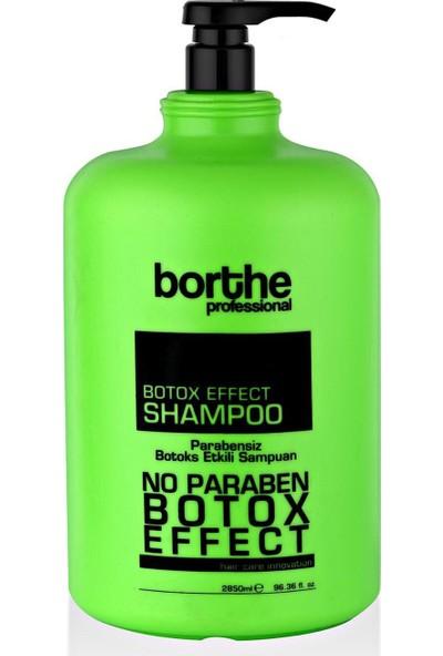 Borthe Botox Profesyonel Saç Bakım Şampuanı 2850 ml