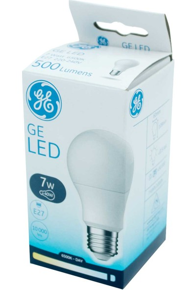 General Electric 7 W E27 LED Ampul Beyaz 12'li