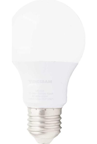 Tungsram 9 W E27 LED Ampul Beyaz 12'li