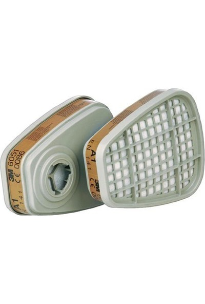 3M 6051 A1 Organik Gaz Buhar Maske Filtresi