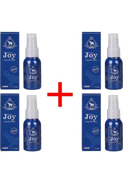 Joy 25 ml 50 Kullanımlık 4 Adet Sprey