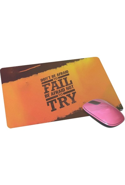 Wuw Dont Be Afraid Mouse Pad