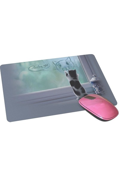 Wuw Özleyen Yavru Kedi Mouse Pad
