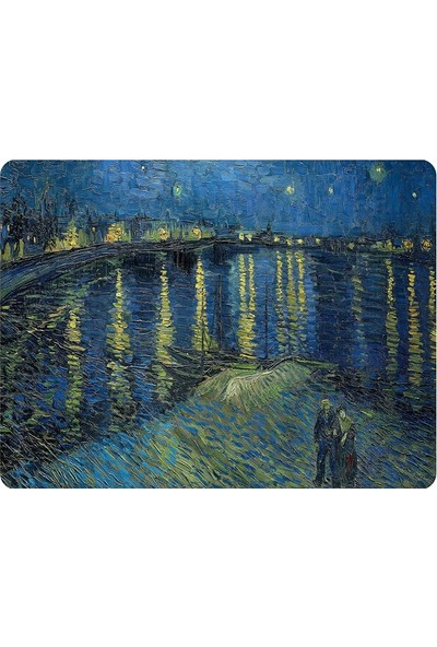 Wuw Van Gogh Starry Night Over The Rhone Mouse Pad