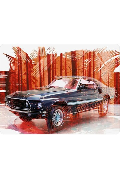Wuw Mustang Mouse Pad