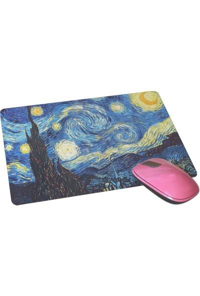 Wuw Van Gogh Yıldızlı Gece Mouse Pad