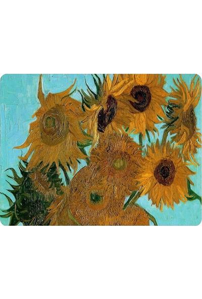 Wuw Van Gogh Sun Flower Mouse Pad