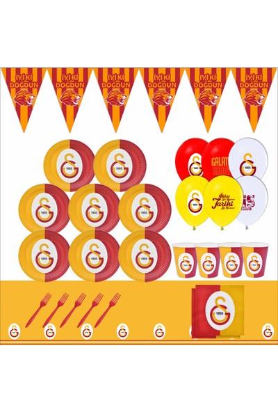 Bayhesaplı Galatasaray Doğum Günü Parti Seti 16 Kişilik