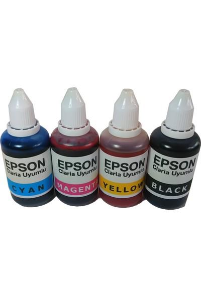 Duruink Epson T0711/T0714 Kolay Dolan Kartuş Seti + 4 x 50 ml