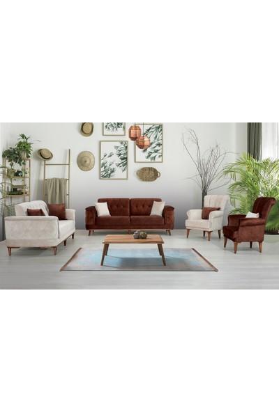 Asalet Mobilya Dallas Modern Salon Takımı