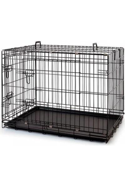 Sanili Köpek Kedi Kafesi Katlanabilir 120 x 77 x 90 cm