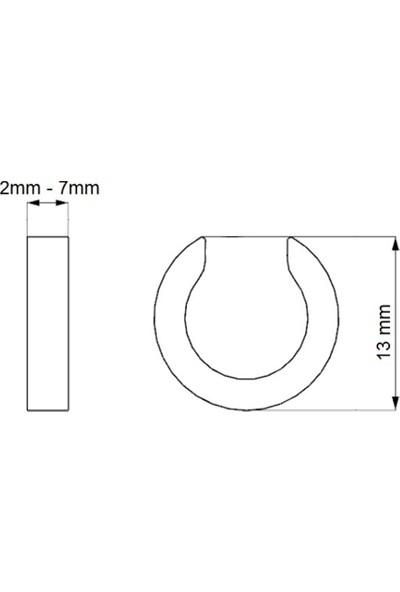 Getss Ek001 Kıstırmalı Model Çelik Küpe