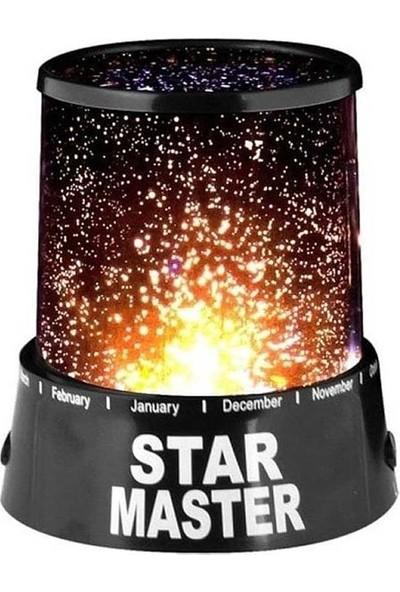 Star Master Yıldızlı Gece Lambası Projeksiyon Tavan Işık Yansıtma