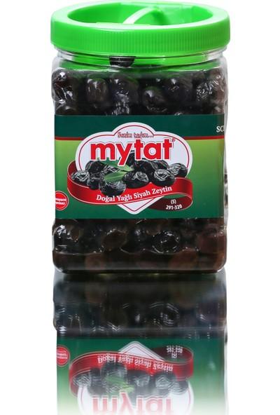 Mytat Süper Siyah Zeytin 900 gr / 291-320 (S)