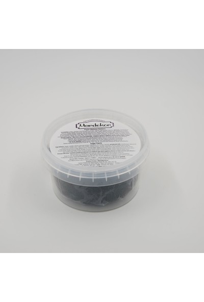 Mardekor Şeker Hamuru 200 gr - Siyah