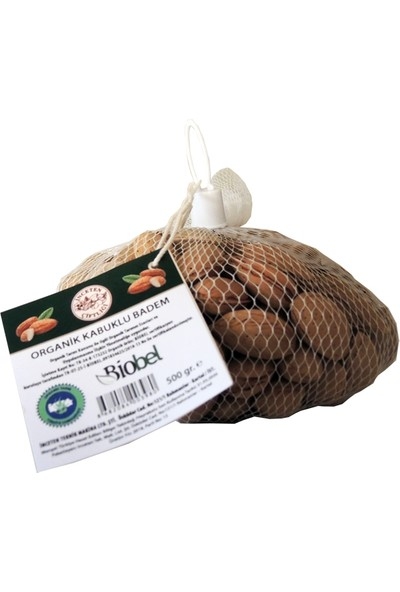 Inceten Çiftliği - Organik Sert Kabuklu Badem 500GR