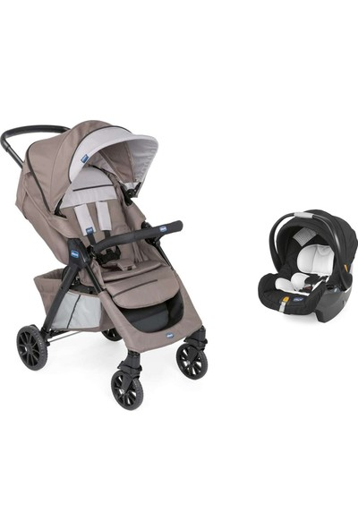 Chicco Duo Kwik One Travel Sistem Bebek Arabası / Moka