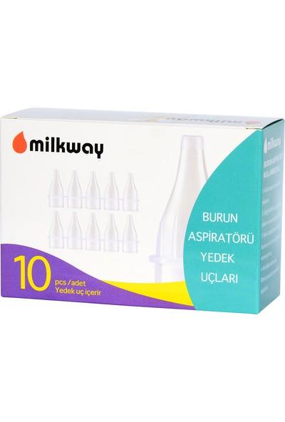 Milkway 10'lu Burun Aspiratörü Yedek Uçları