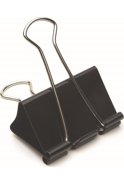 Mas Omega Çelik Kıskaç (siyah 25mm)1 Paket