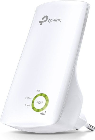 TP-LINK TL-WA854RE 300 Mbps Wifi Pro Sinyal Güçlendirici, Kablosuz Wall Plug Kolay Kurulumlu Evrensel Menzil Genişletici