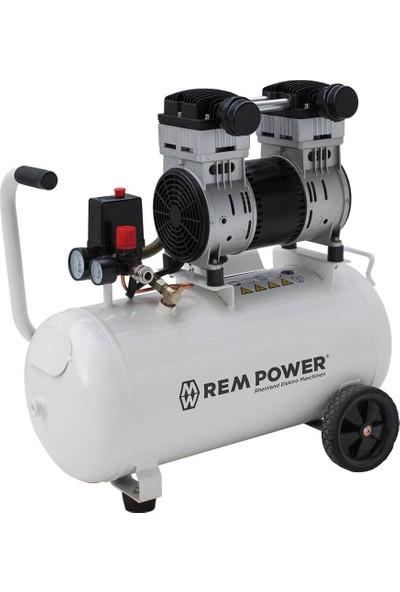 Rem Power Sessiz ve Yağsız Hava Kompresörü 40 lt 1,6 Hp