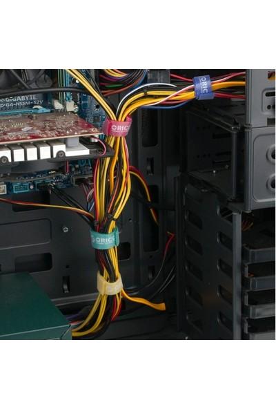 Vendas Renkli Kablo Sarıcı ve Organizer 1 m 5'li