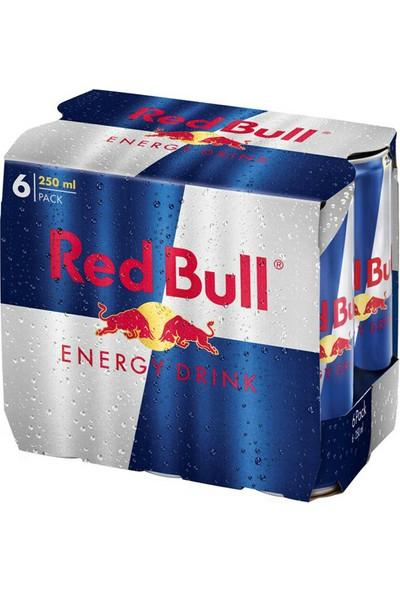 Red Bull Enerji İçecegi 250 ml ( 6 Adet )