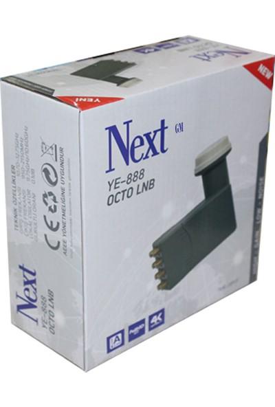 Next YE-888 8 Çıkışlı Lnb 888 Octo