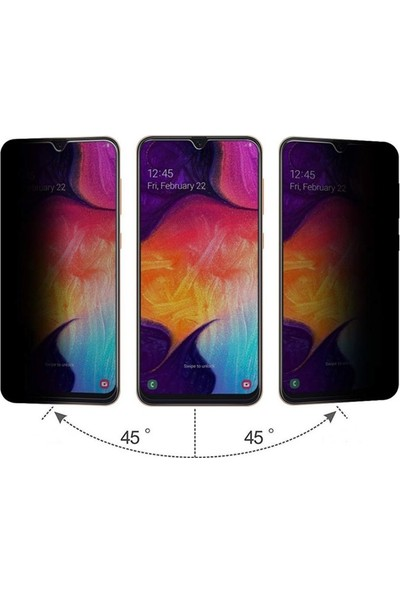 Gpack Samsung Galaxy A50s Privacy Gizlilik Filtreli Hayalet Cam