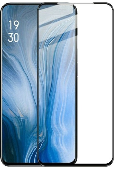 Gpack Oppo Reno 10x Full Kapatan Fiber Nano Ekran Koruyucu Siyah