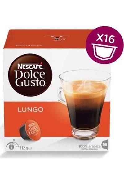 Nescafe Dolce Gusto Lungo 16 Kapsül Kahve %100 Arabica