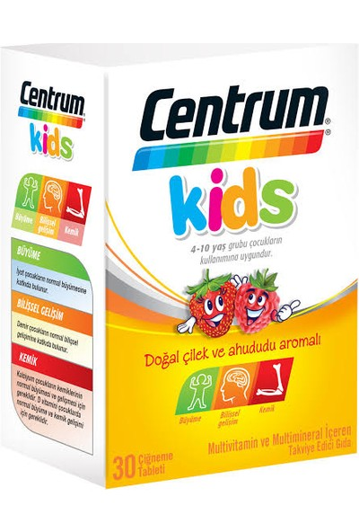 Centrum Kids 30 Çiğneme Tableti