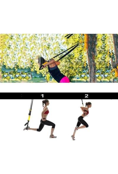 Rebuwo Trx Egzersiz Seti Yarı Pro