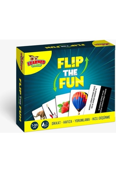 Learned Games Flip The Fun (Eğlenceyi Çevir)